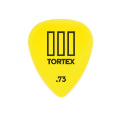Dunlop Tortex III Standard 0.73 Yellow Pick