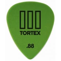 Dunlop 462 Tortex III Standard 0.88 Green Pick