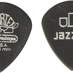 Dunlop 482 Tortex Pitch Black Jazz III Pick 1.0 mm