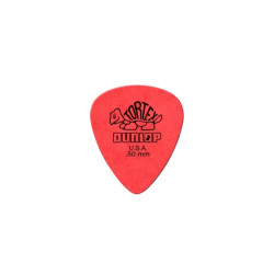 Dunlop 418 Tortex Standard 0.50 Red Pick