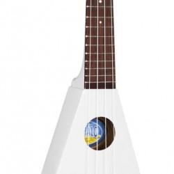Domus Musica Ukulele flying V Mahalo bianco con borsa UM2012W