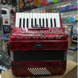 SOUNDSATION VOCE I 2648-RD 2nd Fisarmonica 48 bassi w/bag