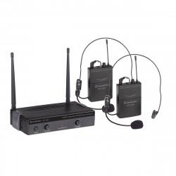 SOUNDSATION WF-U24PP RADIOMICROFONO UHF 4 CANALI 2 TX POCKET
